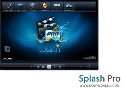 Splash پلیر محبوب و قدرتمند Splash Pro 1.13.2