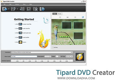 Tipard ساخت فیلم Dvd توسط Tipard DVD Creator 3.1.30