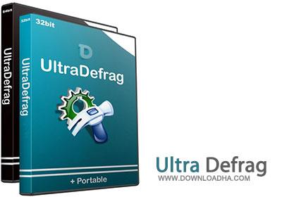 Ultra مرتب سازی سکتور های هارد دیسک توسط نرم افزار UltraDefrag 6.0.0