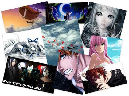 40 Wonderful Anime HD Wallpapers مجموعه 40 والپپر جذاب از انیمیشن های محبوب