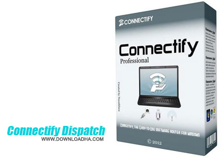 به اشتراک گذاری اینترنت با Wifi با Connectify Dispatch 8.3.0