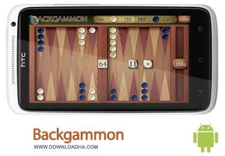 backgammon android بازی زیبای تخته نرد Backgammon 1.72   اندروید
