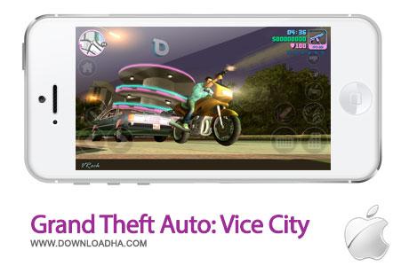gta vice city بازی زیبا و محبوب Grand Theft Auto: Vice City   آیفون و آیپد