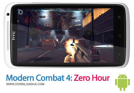 mc4 zh android بازی محبوب Modern Combat 4:Zero Hour – اندروید