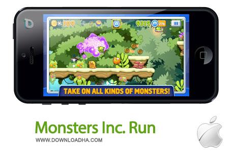 monsters inc run بازی زیبا و سرگرم کننده Monsters Inc. Run   آیفون و آیپد
