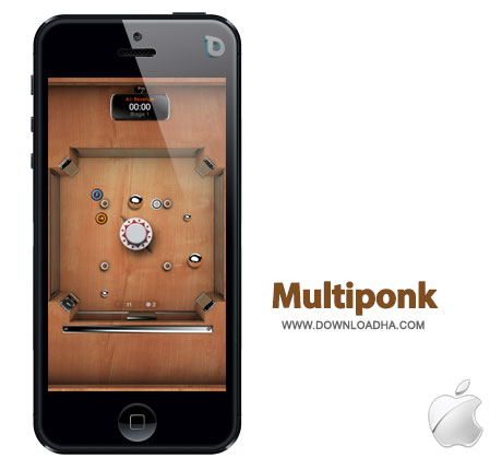 multiponk بازی زیبا و مهیج Multiponk 2.1.7   آیفون و آیپد