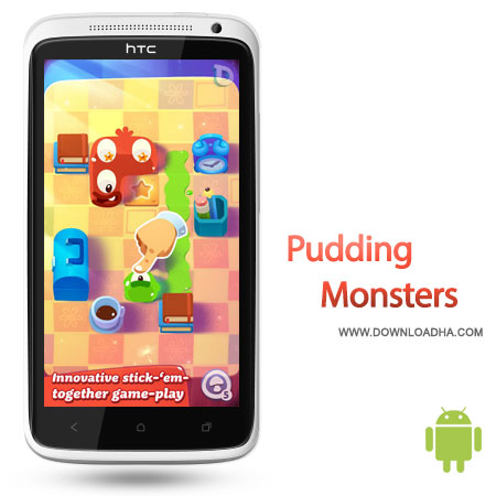 pudding monsters android بازی زیبا و سرگرم کننده Pudding Monsters HD 1.0.2 اندروید