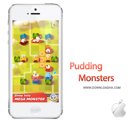 pudding monsters iPhone بازی زیبا و سرگرم کننده Pudding Monsters 1.0   آیفون