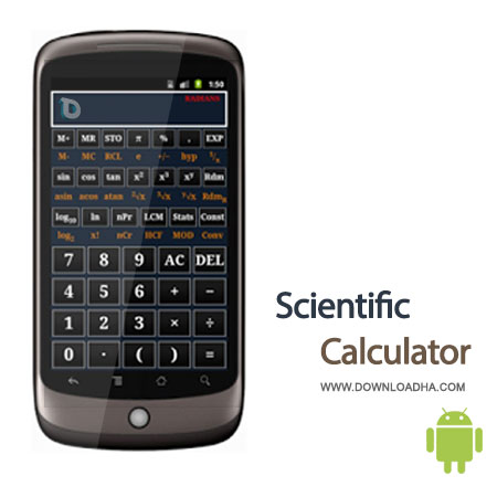 scientific calculator android ماشین حساب مهندسی Scientific Calculator 2.8.9   اندروید