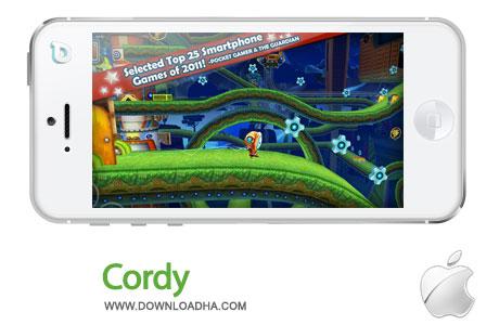 cordy بازی سرگرم کننده Cordy 1.7   آیفون و آیپد