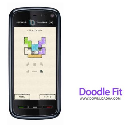 doodle fit java بازی فکری Doodle Fit 1.0   جاوا
