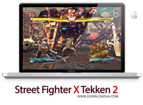 sfxt2 بازی مبارزهای محبوب Street Fighter X Tekken 2   مک