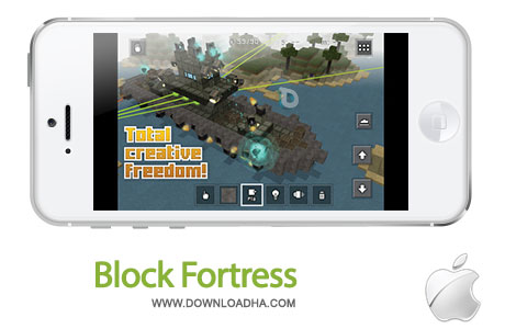 block fortress بازی جذاب Block Fortress 1.0   آیفون و آیپد
