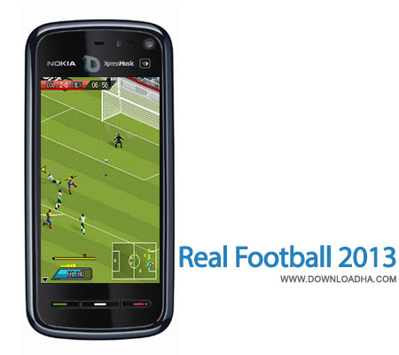 real football 2013 بازی فوتبال Real Football 2013   جاوا