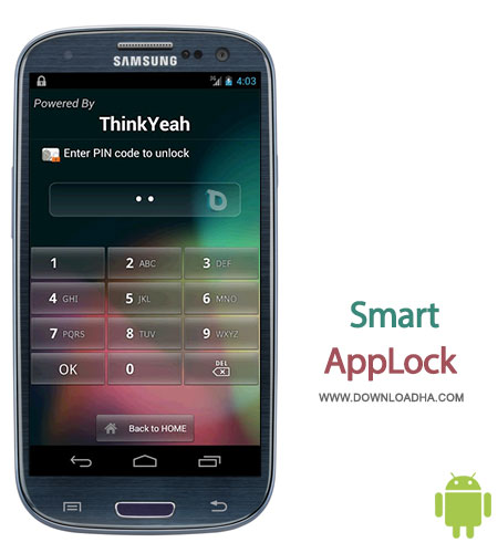 smart applock android قفل گذاری روی برنامههای موبایل با Smart AppLock Full   اندروید