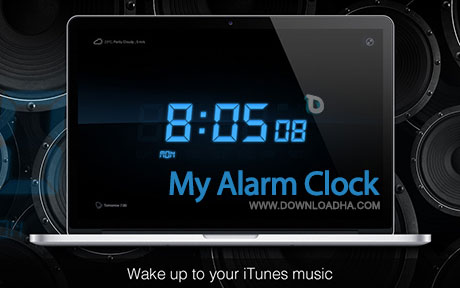 my alarm clock mac ساعت زنگدار My Alarm Clock   مک