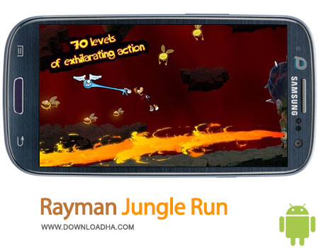 rayman jungle run android بازی محبوب Rayman Jungle Run 2.0.8   اندروید