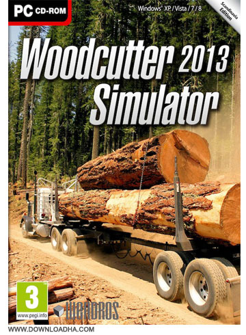 WCutter Cover دانلود بازی شبیه ساز هیزم شکن Woodcutter Simulator 2013