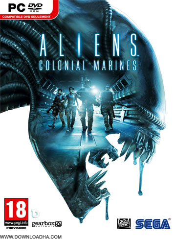Aliens Colonial Marines Cover دانلود بازی Aliens Colonial Marines برای PC