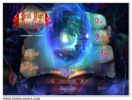 DeathPages Cover دانلود بازی Death Pages: Ghost Library برای PC
