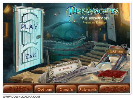 DreamScapes Cover دانلود بازی ترسناک Dreamscapes: The Sandman