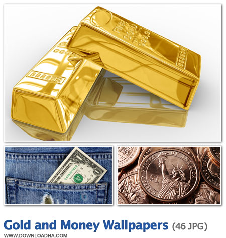 Gold And Money Wallpapers مجموعه 46 والپیپر زیبا با موضوع پول و طلا