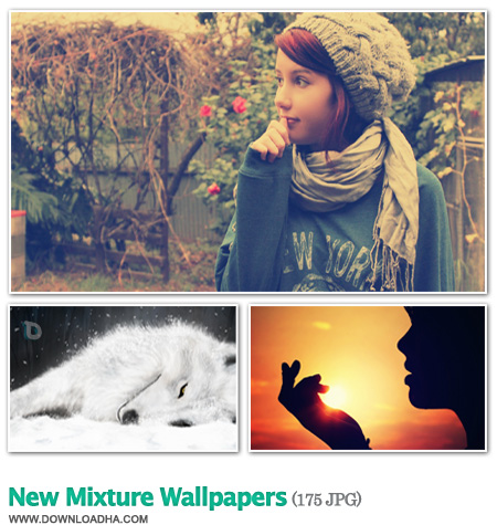 New Mixture Wallpapers مجموعه 175 والپیپر تماشایی New Mixture Wallpapers