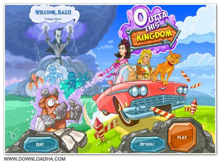 Outta Cover دانلود بازی مدیریتی Outta This Kingdom