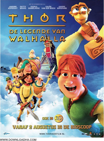 Thor دانلود دوبله فارسی انیمیشن تور : افسانه وایکینگ ها Thor Legends of Valhalla 2011