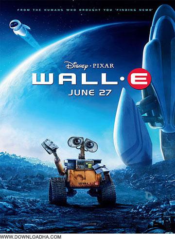 Wall e دانلود دوبله فارسی انیمیشن وال ای WALL E 2008