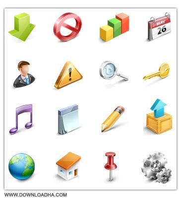 Webtoys Icons دانلود مجموعه 55 آیکون طراحی وب Webtoys Icons