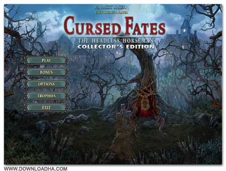 CursedFates Cover دانلود بازی فکری Cursed Fates : The Headless Horseman برای PC