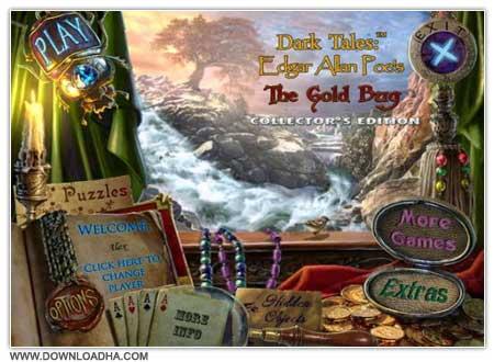 Darktales Cover دانلود بازی Dark Tales Edgar Allan Poes The Gold Bug برای PC