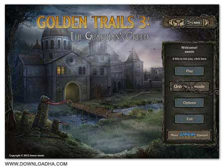 Golden Trails Cover دانلود بازی Golden Trails 3 The Guardian's Creed برای PC