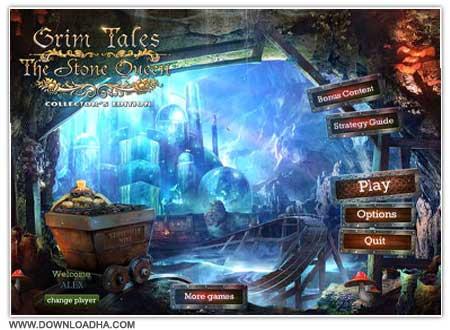 Grim Tales Cover دانلود بازی Grim Tales 4: The Stone Queen برای PC