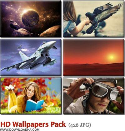 HD Wallpapers Pack دانلود مجموعه 426 والپیپر دیدنی با موضوعات متنوع