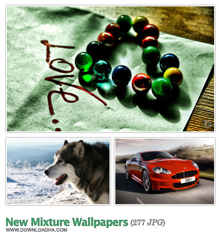New Mixture Wallapers SET2 2 مجموعه 277 والپیپر استثنایی New Mixture Wallpapers