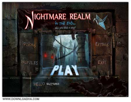 Nightmare Cover دانلود بازی ترسناک Nightmare Realm 2   In the End برای PC