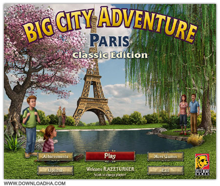 Paris Cover   Big City Adventure : Paris  PC
