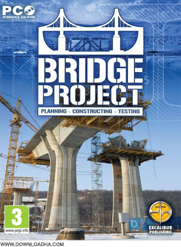 Bridge Cover دانلود بازی Bridge Project برای PC