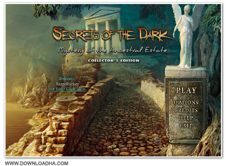 Dark3 Cover دانلود بازی Secrets of the Dark 3: Mystery of the Ancestral Estate