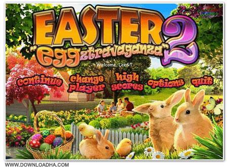 Easter Cover دانلود بازی Easter Eggztravaganza 2 برای PC