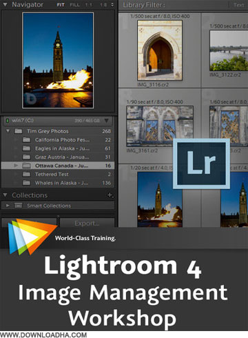 Lightroom دانلود فیلم آموزشی Lightroom 4 Image Management Workshop