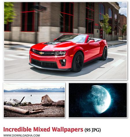 ۹۵ والپیپر دیدنی از موضوعات مختلف Incredible Mixed Wallpapers