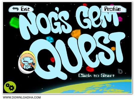 Nogs Cover دانلود بازی کم حجم Nogs Gem Quest برای PC