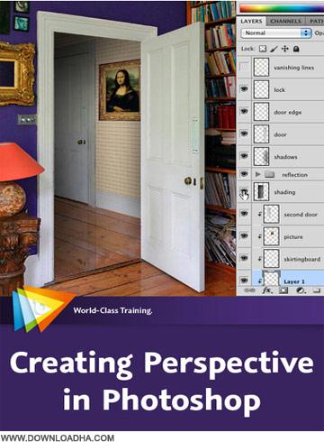 Perspective فیلم آموزشی پرسپکتیو در فوتوشاپ Creating Perspective in Photoshop