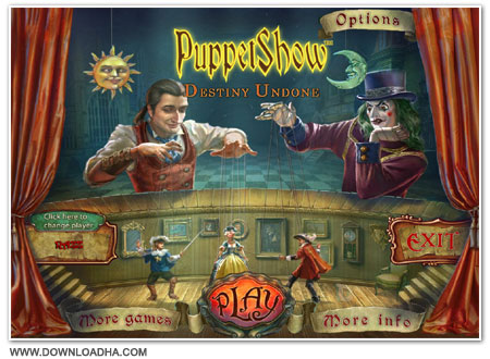 Pupet Cover دانلود بازی PuppetShow 5 Destiny Undone برای PC