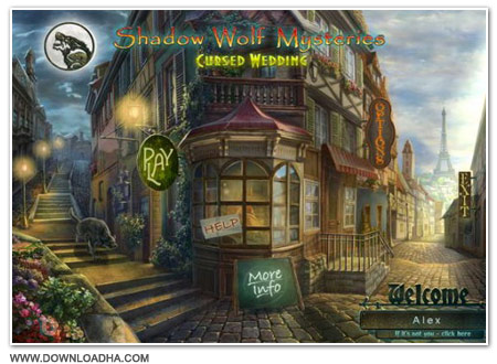 Shadow Cover دانلود بازی Shadow Wolf Mysteries Cursed Wedding برای PC
