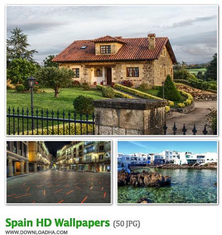 Spain مجموعه 50 والپیپر از مناظر دیدنی کشور اسپانیا Spain HD Walpapers