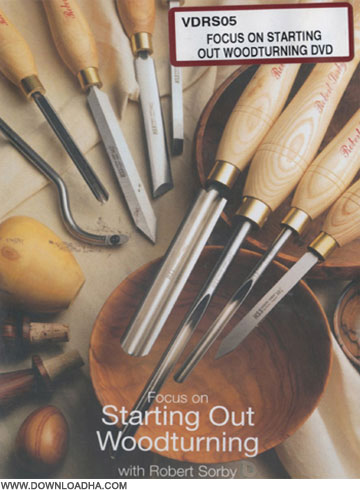 WoodTurning آموزش مقدماتی خراطی Focus on Starting Out Woodturning
